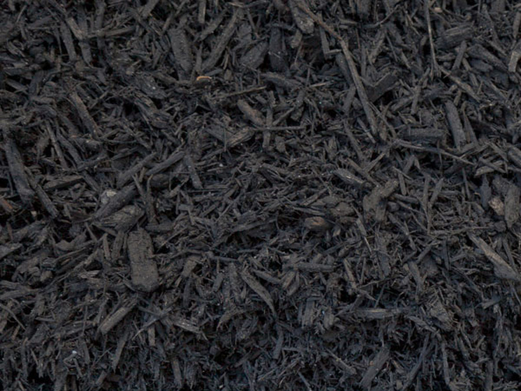 Black Dye Mulch (2 Cubic Foot bag)