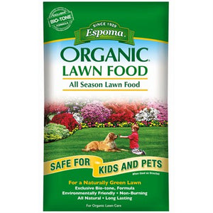 Espoma Organic All Season Lawn Food (14 lb bag)