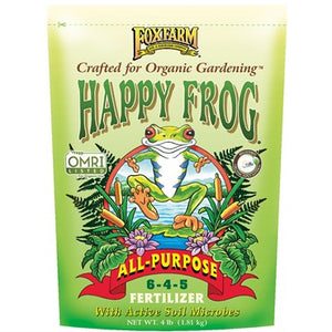 Fox Farm Happy Frog All Purpose Fertilizer 6-4-5 (4 lb bag)