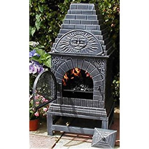 Cast Iron Outdoor Fireplace