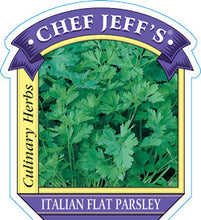 "Load image into Gallery viewer, Chef Jeff's ""Italian Flat Parsley"" (4"" Container)"