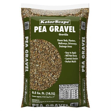 Kolorscape Pea Gravel (0.5 Cubic Feet)