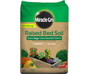 Miracle Gro Raised Bed Soil (1.5 cubic ft)