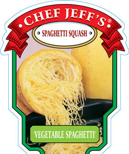 "Chef Jeff's Squash Spaghetti (4"" Container)"