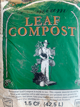 Load image into Gallery viewer, Shenandoah Organic Leaf Compost BAG (1.5 cu feet)