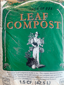 Shenandoah Organic Leaf Compost BAG (1.5 cu feet)