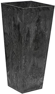 Artstone 35.5 Black Planter