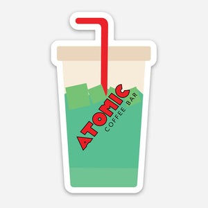 Atomic Energy Drink Sticker