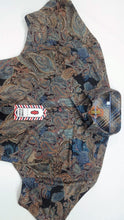 Load image into Gallery viewer, Luchiano Visconti - Brown Short Sleeve - Paisley Jacquard Knit