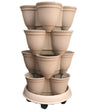 Stackapots 'Multi-Tubs' with Trolley and free Postage