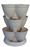 Stackapots Maxi sized Stacking Tubs with Trolley and Free Postage
