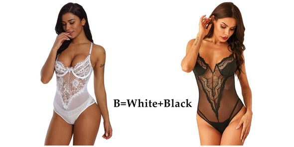 Women Lace Lingerie Halter Tie Teddy Lingerie For Curvy Women Lingerie For Curvy Women Lingerie For Curvy Women