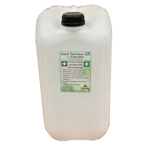 HS70 - Hand Sanitiser 70% alcohol - 25 Litres - Anti Bacterial with Moisturiser