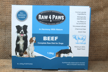 Load image into Gallery viewer, Raw4Paws 8 x 200g Portions for Dogs