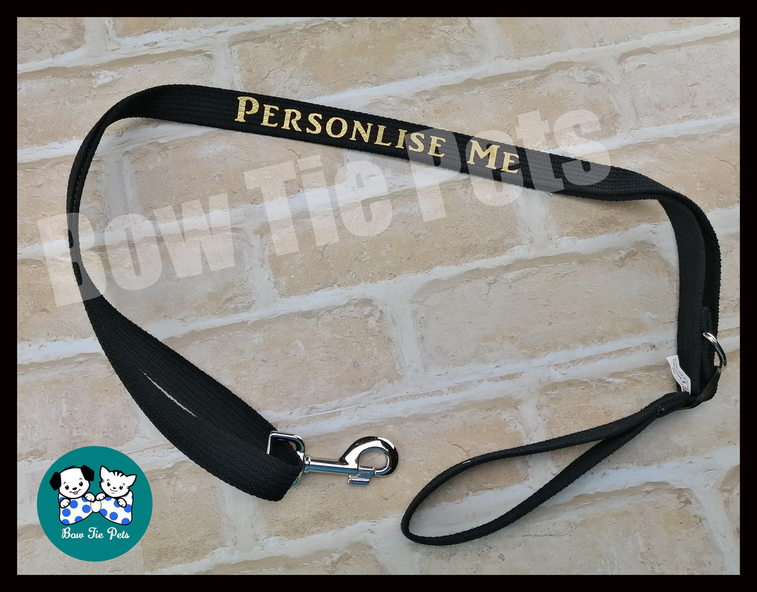 Personalisation of collar, lead & harness - with purchase