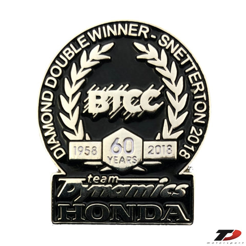 Team Dynamics Diamond Double Pin Badge
