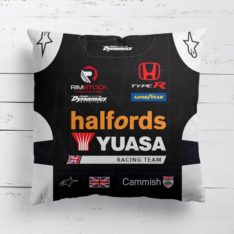 Halfords Yuasa Racing Cushion