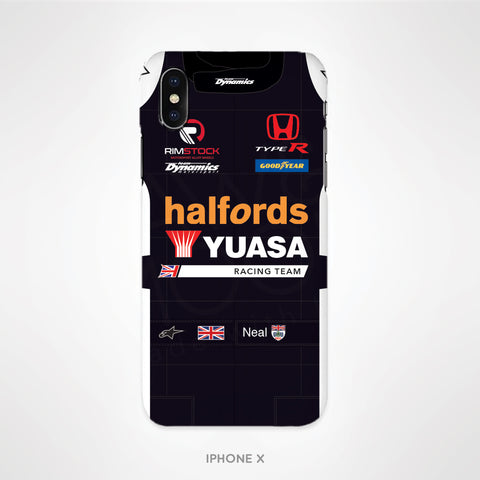 Halfords Yuasa Racing Tough Phone Case - Matt Neal