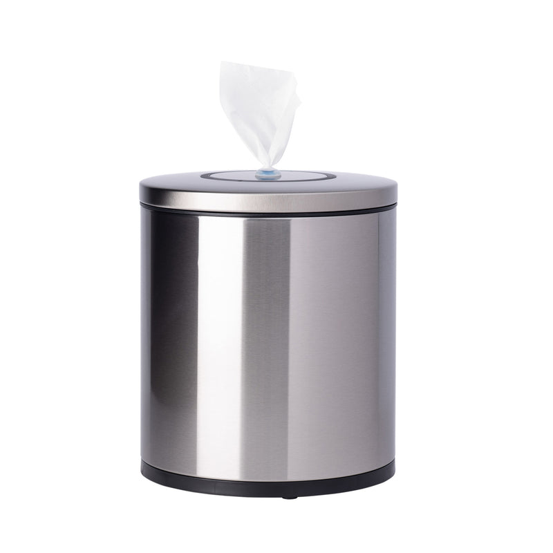GoodEarth Stainless Steel Round Countertop Wipe Dispenser