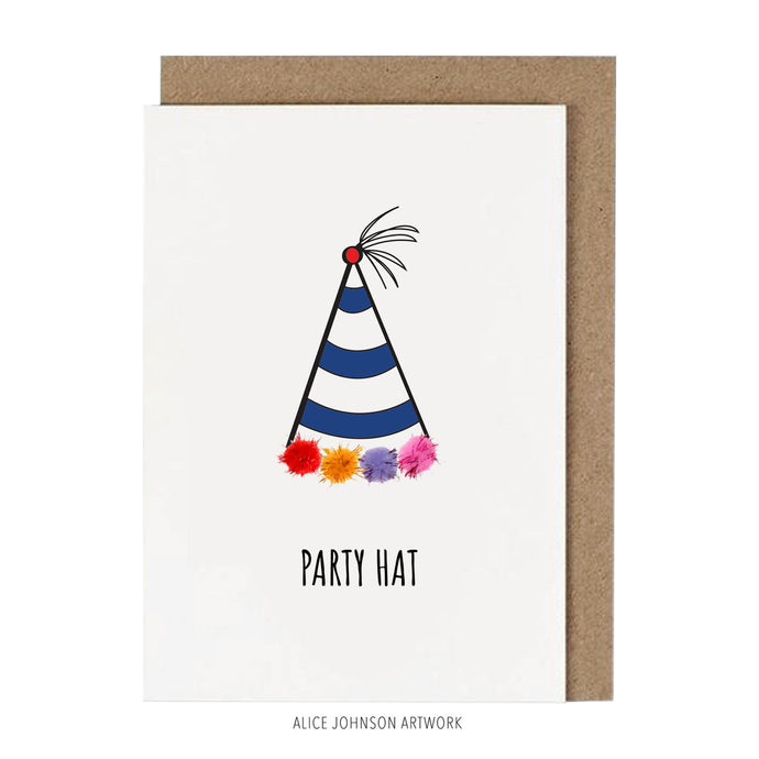 Party Hat by Alice Johnson Artwork