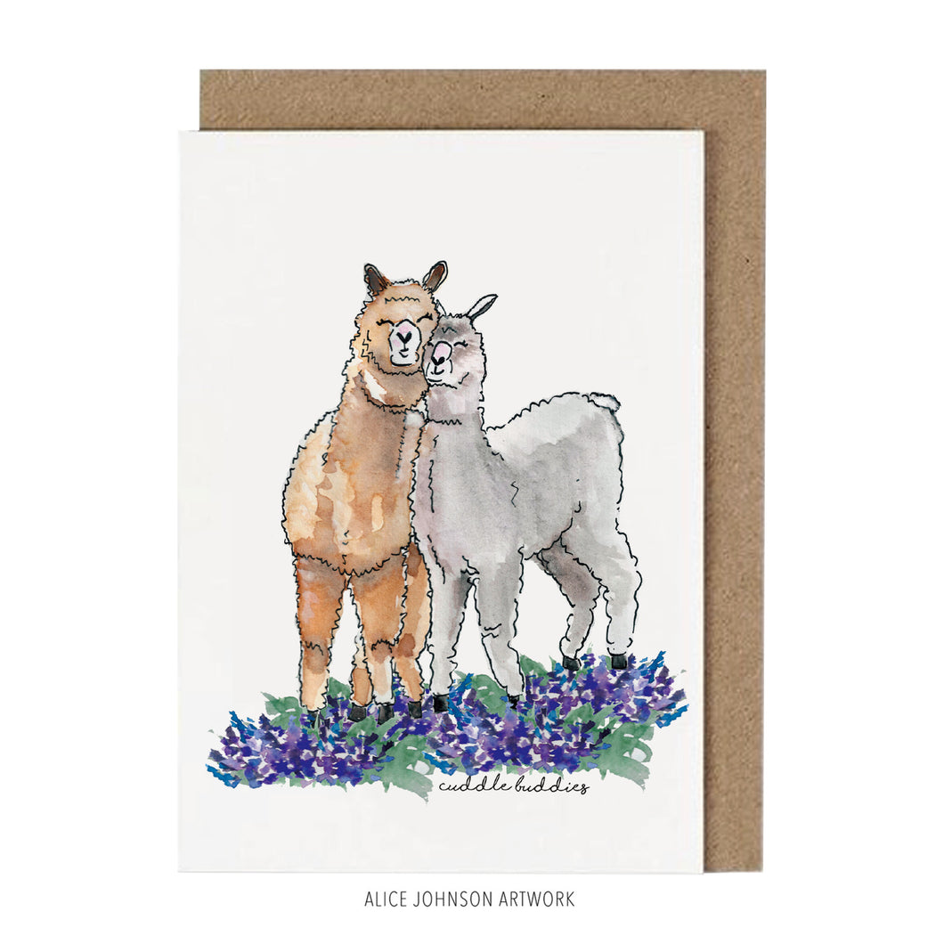Cuddle Buddies by Alice Johnson Artwork