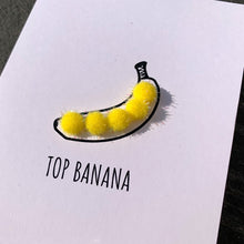Load image into Gallery viewer, Top Banana (pom-pom)