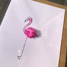 Load image into Gallery viewer, Flamingo (pom-pom)