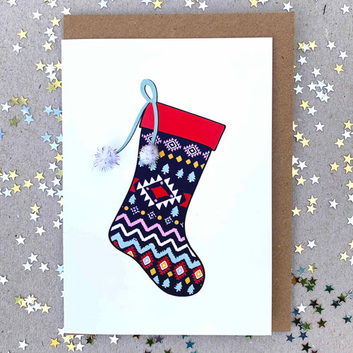 Christmas Stocking by Alice Johnson Artwork