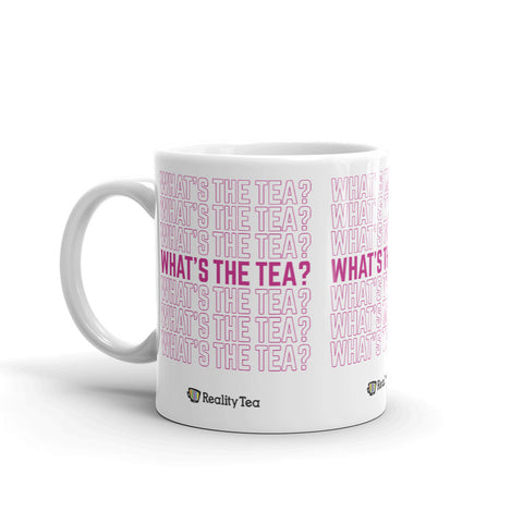 Reality Tea - What's the Tea? | Mug - RT-Merch