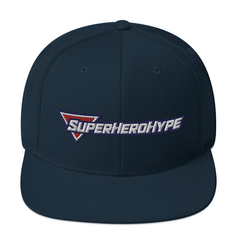 Superhero Hype - Embroidered Logo | Snapback Hat - SHH-Merch