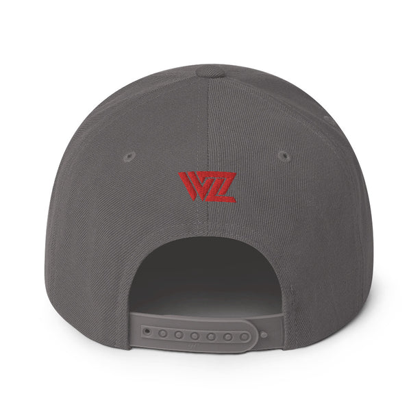 WrestleZone - Embroidered Logo | Snapback Hat - WZ-Merch