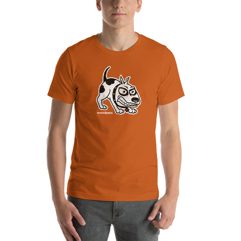 Sherdog - The Dog, Distressed | Short-Sleeve Unisex T-Shirt - SD-Merch