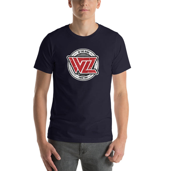 WrestleZone - In The Ring With Barbed Wire | Short-Sleeve Unisex T-Shirt - WZ-Merch