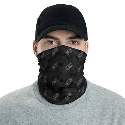 Sherdog - Black Camo with Logo | Neck Gaiter - SD-Merch