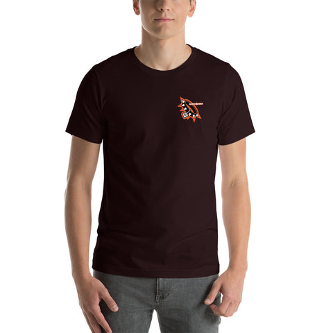 Sherdog - Collar, Left Chest | Short-Sleeve Unisex T-Shirt - SD-Merch