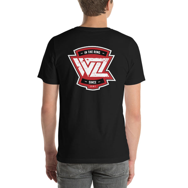 WrestleZone - In The Ring in Red | Short-Sleeve Unisex T-Shirt - WZ-Merch