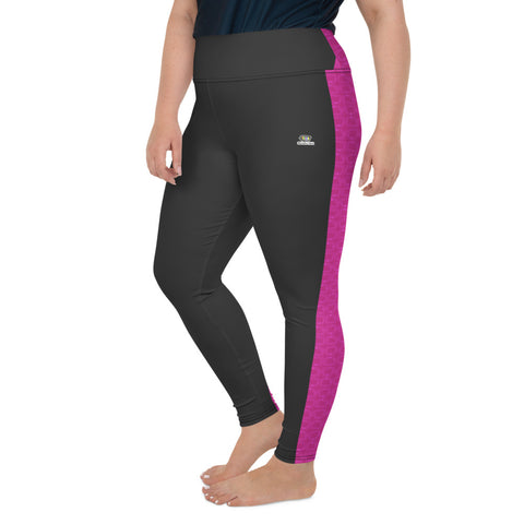 Reality Tea - Fuchsia | Plus Size Leggings - RT-Merch