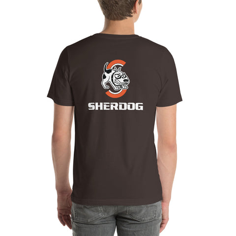 Sherdog - Ring The Bell, Left Chest | Short-Sleeve Unisex T-Shirt - SD-Merch