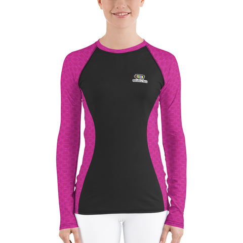 Reality Tea - Fuchsia | Women's Rash Guard - RT-Merch