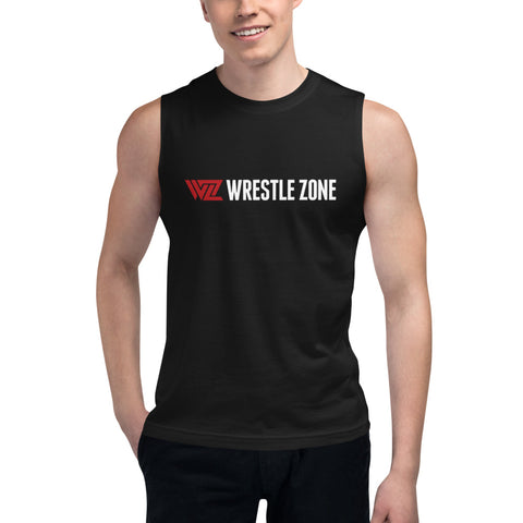 WrestleZone - General Logo | Muscle Shirt - WZ-Merch