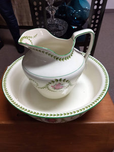 Antique Pitcher and Bowl set