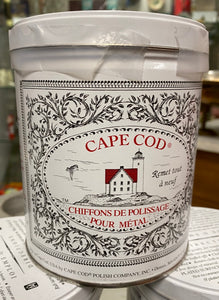 Cape Cod Polishing Cloths Tin