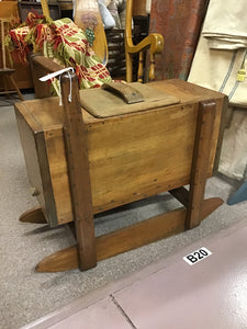 rocking butter churn converted to table (Local pick up only)