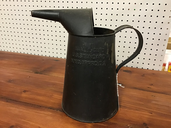 Oil Gas 1 gallon Pitcher