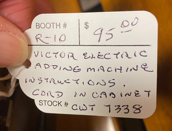 Vintage Victor Electric Adding Machine