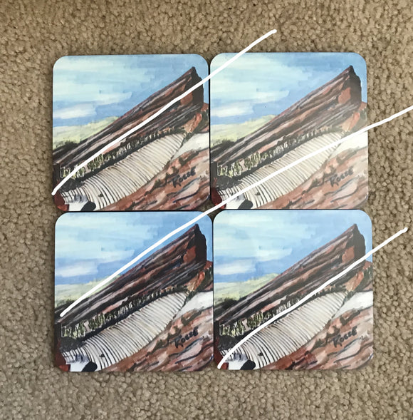 RED ROCKS THEATER COASTERS