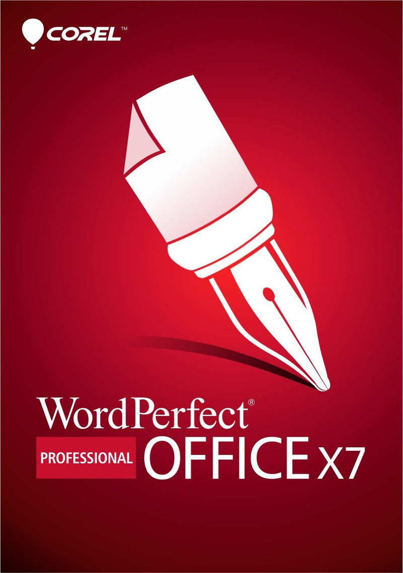 Corel WordPerfect Office X7 Professional Upgrade - Retail Box