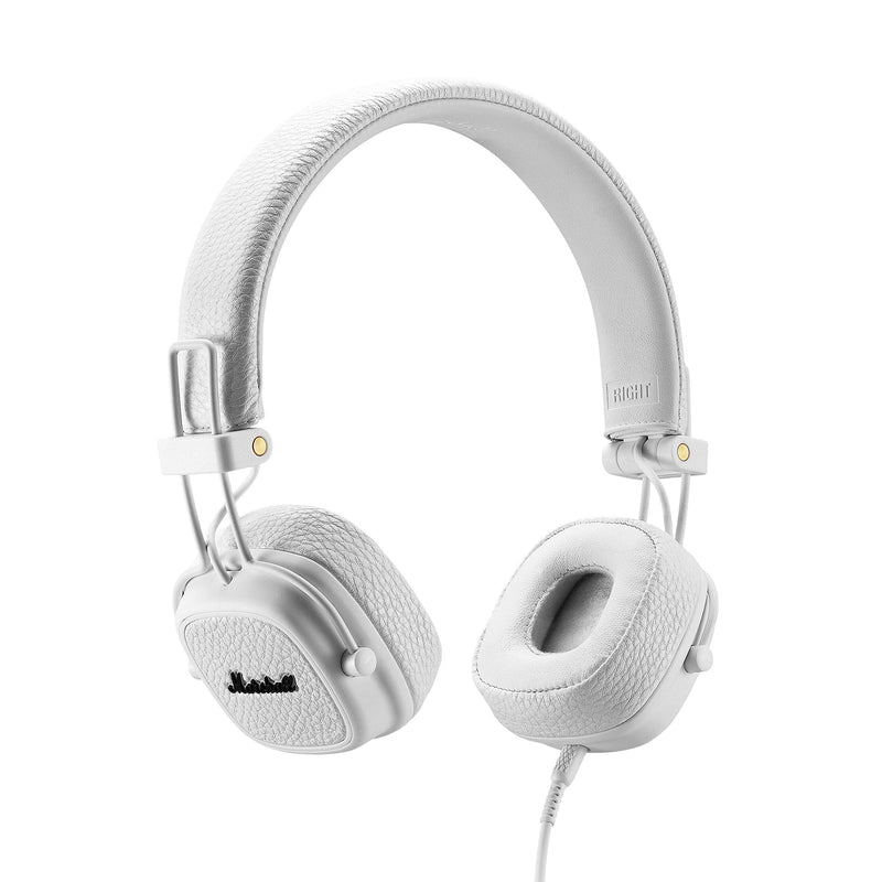 Marshall Major III Wired On-Ear Headphones (White)