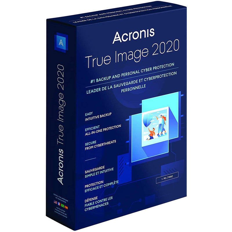 Acronis True Image 2020 - Retail Box