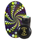 Indo Board Original Training Pack with Roller & Cushion (Rabbit Hole)